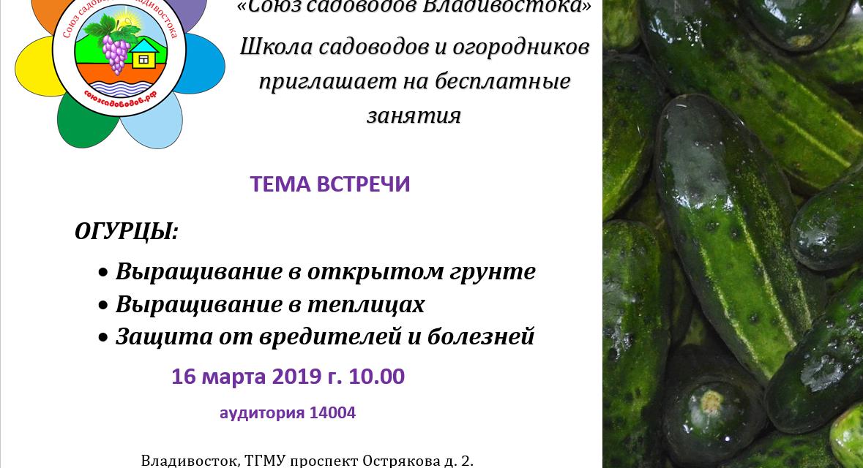 Огурцы. Сорта адаптированные для Приморья (Александр Корнилов )